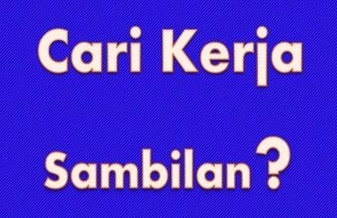 Top 10 Kerja Sambilan Menaip Data Entry Di Rumah Secara Sambilan Part Time Dan Sepenuh Masa Full Time Rawatan Bekam Sunnah Az Zahra Subang Bestari